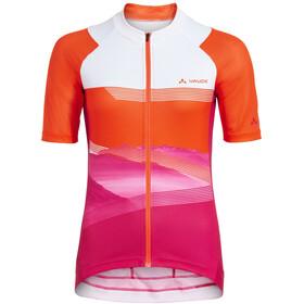 VAUDE Majura II Maglietta con zip Donna, arancione/rosa